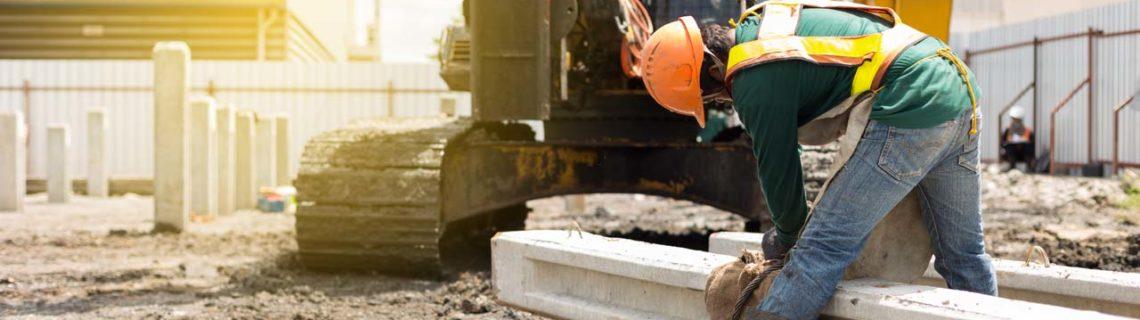 Dores lombalgias trabalhador da construção civil