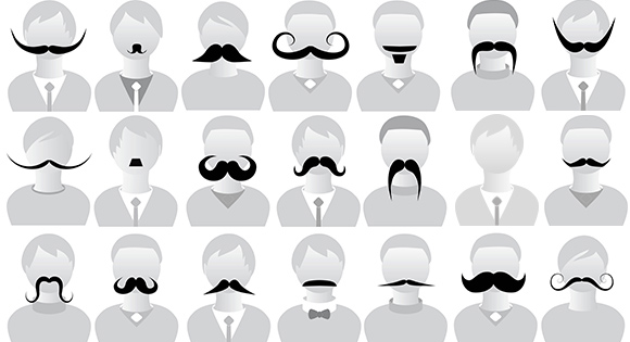 Movember: maand van de snor