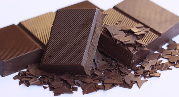 Kriebelhoest? Chocola helpt!