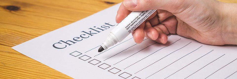 Checklista för mediciner på semestern