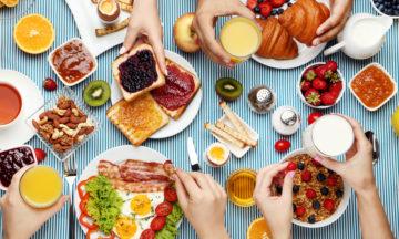 Vier snelle en gezonde ontbijtideeën