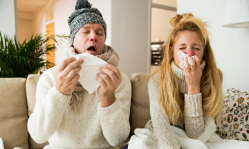 Ill with the flu while on winter sports holiday? Here's what you can do