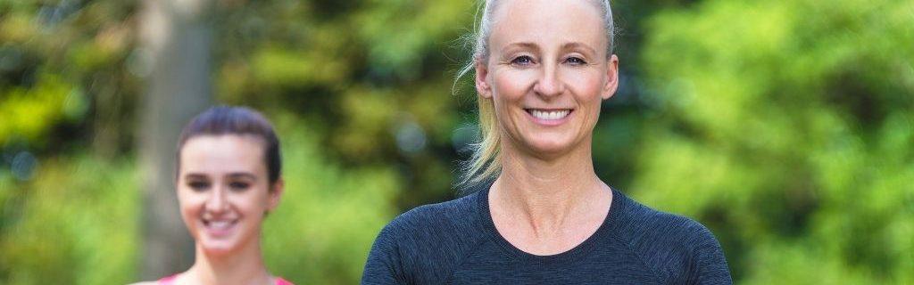 Vrouwen-doen-yoga